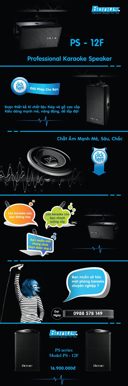 Loa karaoke Bonus PS-12F