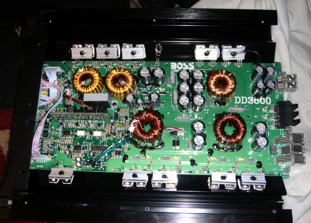 Amplifier class D