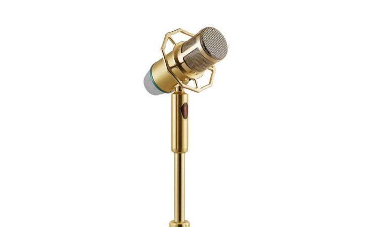 Micro karaoke đứng có dây Bonus MD6