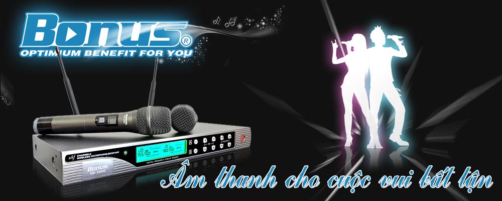 Micro karaoke Bonus MB-1000S