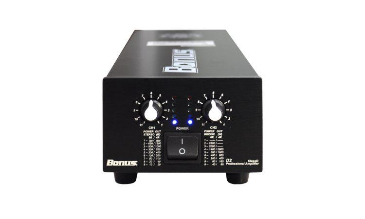 Main power, cục công suất Bonus Audio D2