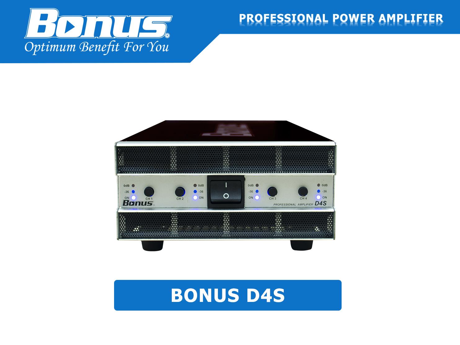 Cục đẩy công suất Bonus D4S