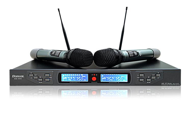 Micro karaoke không dây Bonus Audio MB-5000